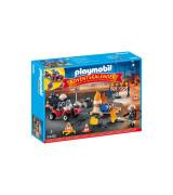 "PLAYMOBIL Adventtikalenteri ""Construction Site Fire"""