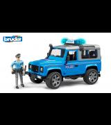 BRUDER Land Rover Defender poliisiauto