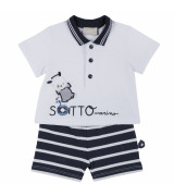 CHICCO 2 kpl poolopaita + shortsit