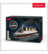 CUBICFUN 3D Palapeli Titanic