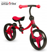SMARTRIKE Potkupyörä punainen/musta