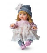 BERJUAN Laura Rubia Vestido Rosa -nukke