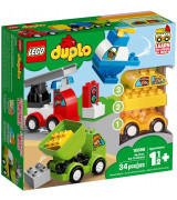 LEGO DUPLO My First Ensimmäiset autorakennelmani 10886