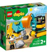 LEGO DUPLO Kuorma-auto ja telakaivuri 10931
