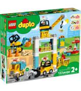 LEGO DUPLO Torninosturi ja rakennustyömaa 10933