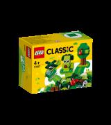LEGO Classic Luovat vihreät palikat 11007