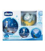 CHICCO Next2Moon Vuodekaruselli, sininen