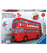 RAVENSBURGER 3D-palapeli Lontoon bussi, 216 kpl