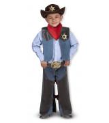 MELISSA & DOUG Cowboyn naamiaisasu