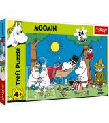 TREFL Suuri palapeli 24 Moomin