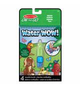 MELISSA & DOUG Water Wow! Vesimaalauskirja Eläimet