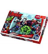 TREFL Palapeli 100 Avengers