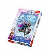 TREFL Palapeli 100 Huurteinen Seikkailu: Elsa