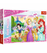 TREFL Palapeli 100 Prinsessat