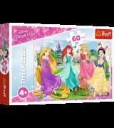 TREFL Palapeli 60 Prinsessat