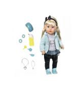 ZAPF BABY BORN interaktiivinen siskonukke kaupungilla, 43 cm