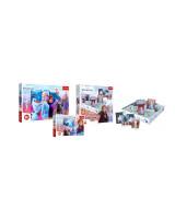 TREFL Frozen setti - Frozen 2  lautapeli Muistot, Iso palapeli Frozen 2 (24 palaa), Palapeli Frozen 2 (30 palaa)