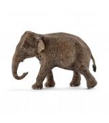SCHLEICH WILD LIFE Aasianelefantti Naaras