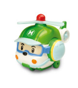 POLI ROBOCAR Metallinen helikopteri Helly