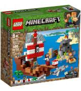 LEGO MINECRAFT Merirosvolaivaseikkailu 21152