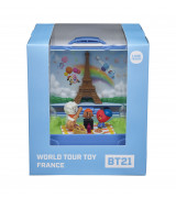 YOUNG TOYS BT21 Maailmanmatkaaja -lelu, Ranska