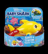 """ZURU BABY SHARK Kylpylelu """"Vauvahai"""", keltainen, 9 cm"""