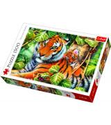 TREFL Palapeli 1500 Tiikerit