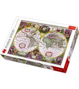 TREFL Palapeli 2000 Vanhanaikainen Maailman Kartta