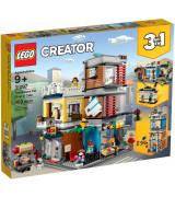 LEGO CREATOR Rivitalon eläinkauppa ja kahvila 31097