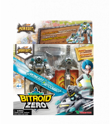 YOUNG TOYS MONKART Robot-Transformer Bitroid Zero-hahmo