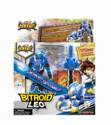 YOUNG TOYS MONKART Robot-Transformer Bitroid Leo-hahmo