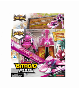 YOUNG TOYS MONKART Robot-Transformer Biroid Pixie-hahmo