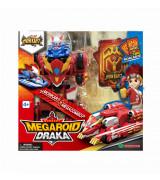 YOUNG TOYS MONKART Robot-Transformer Megaroid Draka-hahmo