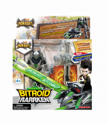 YOUNG TOYS MONKART Robot-Transformer Bitroid Rarrken-hahmo