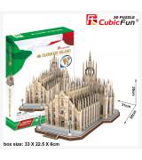 CUBICFUN 3D palapeli MILANON TUOMIOKIRKKO