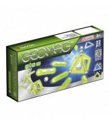 GEOMAG Glitter-magneettirakennussarja, 22 kpl