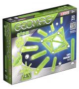 GEOMAG Glitter-magneettirakennussarja, 30 kpl