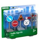 BRIO Liikennemerkit (5 kpl)
