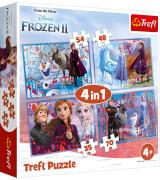 TREFL Palapeli 4 In 1 Frozen 2