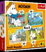 TREFL Palapelisetti 4 in 1 Moomin