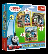 TREFL Palapeli 3 In 1 Thomas