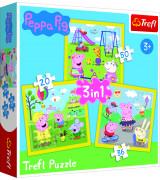 TREFL Pusle komplekt Peppa Pig (3 in 1)