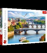 TREFL Palapeli 500 Praha