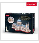 CUBICFUN 3D Palapeli Pyhän Paulin katedraali