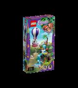 LEGO FRIENDS Tiikeri kuumailmapallossa – pelastusoperaatio viidakossa 41423