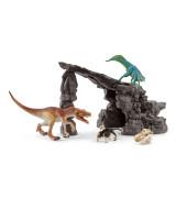 SCHLEICH DINOSAURS Dinosaurusluola -Setti