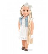 OUR GENERATION Pitkähiuksinen nukke Phoebe