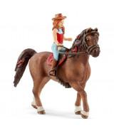 SCHLEICH HORSE CLUB Ratsastuskerho, Hannah & Cayenne