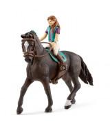 SCHLEICH HORSE CLUB Ratsastuskerho, Lisa & Storm