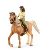 SCHLEICH HORSE CLUB Ratsastuskerho , Sarah & Mystery